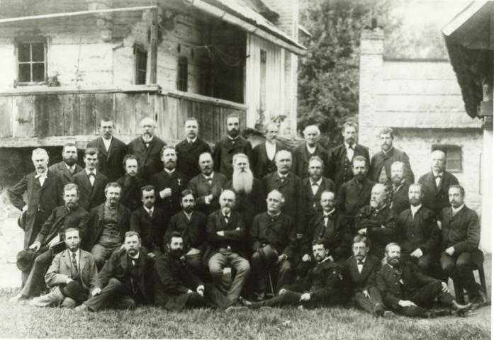 719 Uradniki leskega rudnika in fuzin z obcinskimi mozmi 188 (Small)